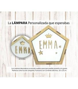 LAMPARA DECO PERSONALIZADA
